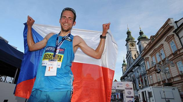 Běžec Jan Kreisinger byl nejlepším Čechem na Mattoni 1/2Maratonu České Budějovice.