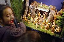 Výstava betlémů. Ilustrační snímek.