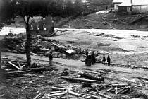 Po protržení přehrady