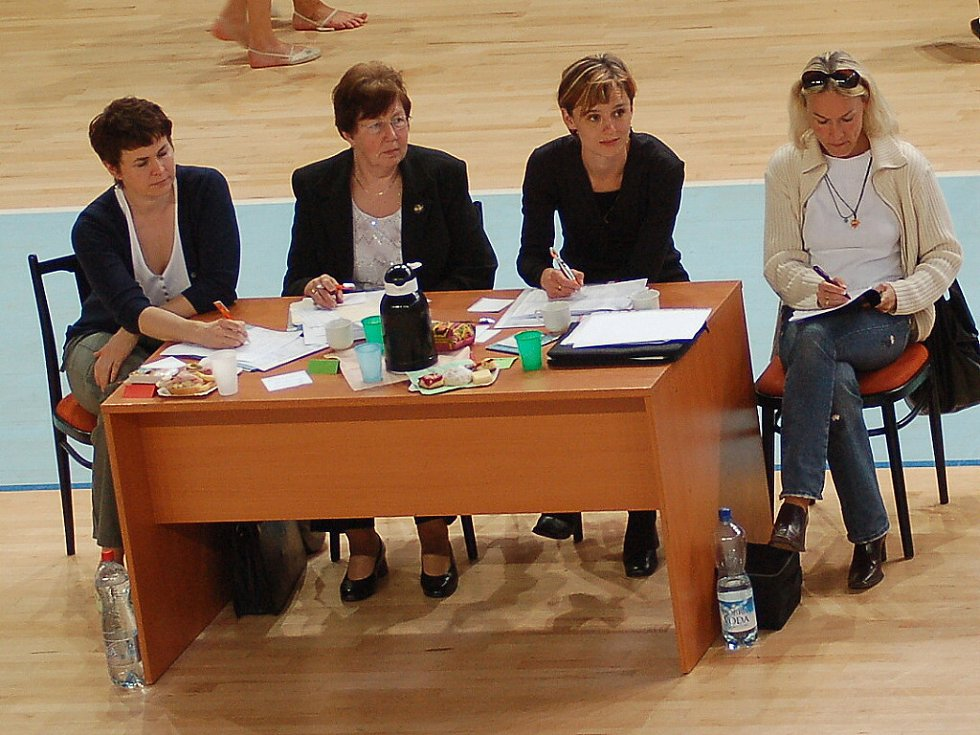 Sokol Jablonec SCM a Tělovýchovná jednota Bižuterie oddíl moderní gymnastiky pořádaly v Městské sportovní hale v Jablonci druhé kolo oblastní ligy v moderní gymnastice.