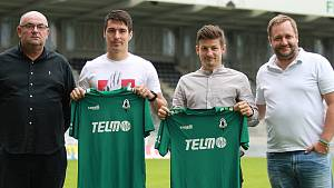 Jablonecké posily Václav Pilař a Tomáš Hrubý.