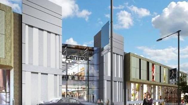 Vizualizace obchodního centra
