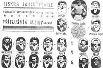Jablonecký ligový fotbal sice žádné ligové výročí letos nemá, od roku 1963, kdy Jiskra Jablonec se stala krajským přeborníkem a postoupila do tehdejší druhé ligy uplynulo rovných 46 let, zato při pohledu na tehdejší hráčské tablo najdeme jubilanty.