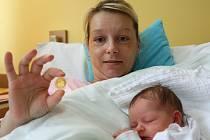 PRVNÍ JABLONECKÉ MIMINKO roku 2013 se narodilo na Nový rok tři minuty před třetí hodinou odpolední manželům Bílkovým z Jablonce nad Nisou.