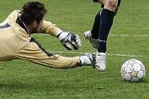 Fotbalové utkání rezervy Baumitu. Ilustrační snímek.