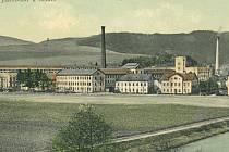 1861-1865 vystavěl továrnu v Semilech továrník Franz Schmitt