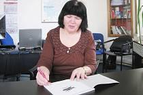 Básnířka Olga Novotná