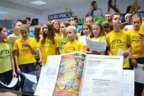 Jablonecký sbotr Iuventus, Gaude nám pomohl v prodejně EURONICS Horák Elektro