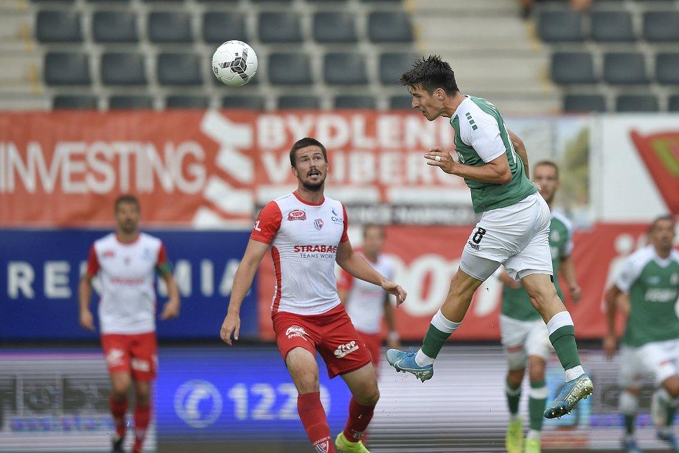 Fotbalisté Jablonce porazili v 1. kole nové sezony FORTUNA:LIGY Pardubice 1:0.