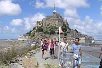 Le Mont Saint Michel patří k jedněm z nejkrásnějších míst, které při francouzské cestě výprava ze Zásady a okolních obcí navštívila.