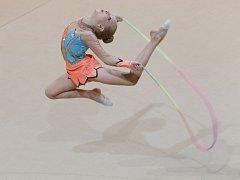 Mladé gymnastky závodily na 23. ročníku Jablonecké perličky.