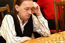 Jaroslav Sedlák při šachu
