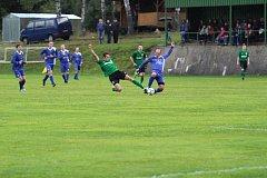 I. B třída východ - Liberecký kraj. Lučany - Bělá p.B. 2:3 (0:1). Lučany - zelené dresy.