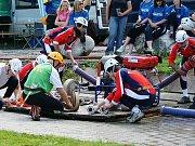 Sbor dobrovolných hasičů Frýdštejn. Soutěž Podkozákovská hasičská liga 2009.