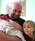Josefína Bittmannová se narodila Lence a Juliusovi Bittmannovým ze Smržovky 27. 4. 2016. Měřila 54 cm a vážila 4100 g. Na Josefínku doma čeká sestřička Rozárka.
