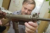 Odevzdané zbraně na Litoměřicku.