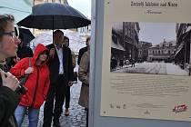 Venkovní výstava v Jablonci