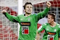Baumit na Slavii opět vyhrál 3:0 a dotáhl se na třetí Olomouc.