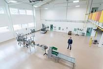 Dnešní stav bývalé výrobní haly Vratislavické kyselky, dnes stáčírny společnosti Kitl.