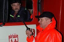 I hasiči v jizerskohorské obci Desná vědí, co dokáže velká voda. V noci ze 7. na 8. srpna 2006 museli evakuovat obyvatele domů u řeky.