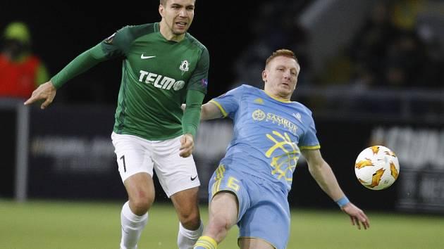 Utkání Evropské ligy Astana - Jablonec