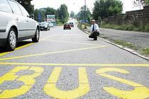 Nová autobusová zastávka v Belgické ulici bude k užívání od 1. září