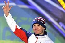 Na Zimních olympijských hrách v běhu na 15 kilometrů volně v kanadském Whistleru Lukáš Bauer vybojoval třetí místo.