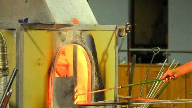 Sklářská pec. Ilustrační foto