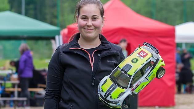 Čtvrtý závod Safari Cupu, RC Rally Bohemia, se uskutečnil 20. května v Albrechticích v Jizerských horách. Na snímku Martina Korhelová.