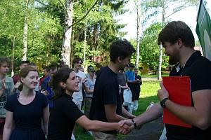Vítězný tým z jabloneckého Gymnázia U Balvanu.