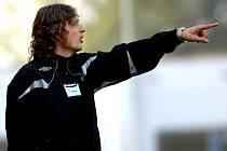 Asistent trenéra Baumitu Jablonec Jozef Weber.
