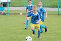 Fotbalový turnaj Junior North Cup mikro patřil letos ročníku 2011 a mladší. Za barvy FK bojovaly tři týmy.