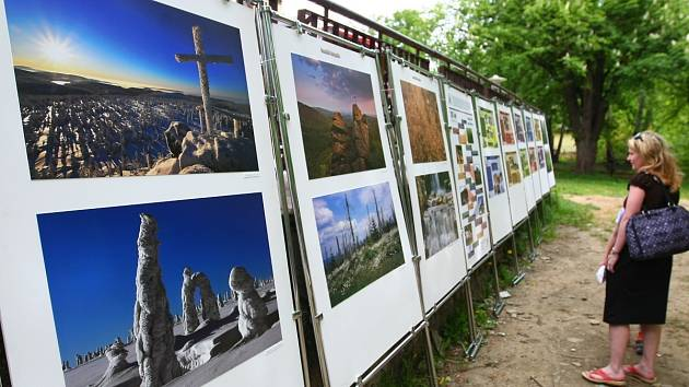 Vítězné snímky soutěže Zaostřeno na Jizerky jsou několikrát vystavovány