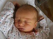 Anna Adamcová se narodila Heleně a Ivanovi Adamcovým z Josefova Dolu dne 4.1.2016. Měřila 51 cm a vážila 3100 g.