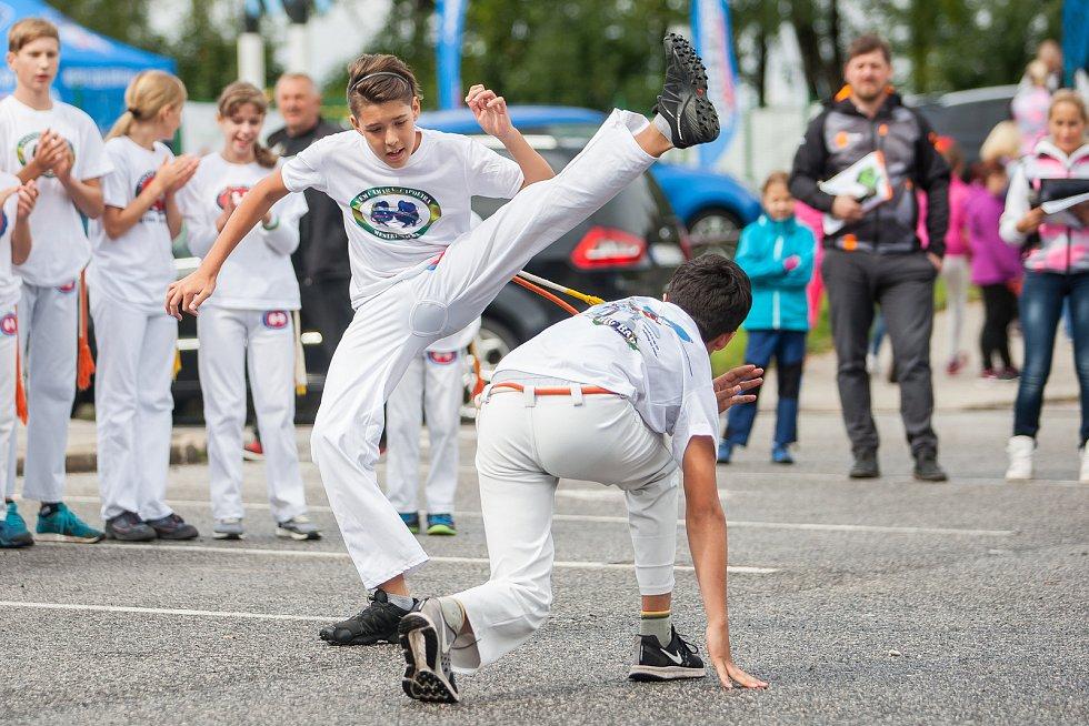 Druhý ročník přehlídky sportovních organizací na Jablonecku, Jablonecká neděle, se uskutečnil 10. září u plaveckého bazénu v Jablonci nad Nisou.