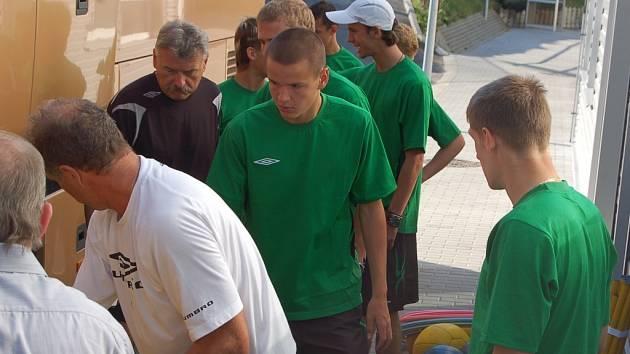 Ze Střelnice zamířil tým FK Jablonec 97 do rakouského Seefeldu.