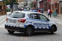 Auto MP Jablonec na Mírovém náměstí - ilustrační snímek