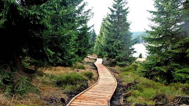 Chodník u Černé Nisy