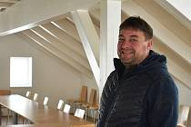 Daniel David, otec zlaté medailistky z MS v biatlonu, Markéty Davidové  a starosta Janova n. N.