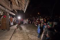 Jírův betlém opět přitáhl davy lidí.