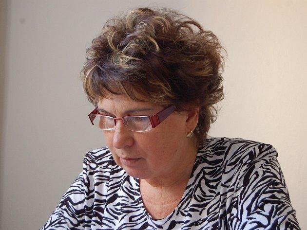 Marie Musichová, předsedkyně okresní organizace Svazu tělesně postižených