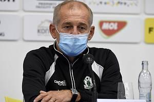 Trenér Petr Rada.