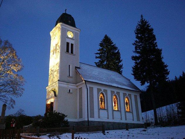 Kostelík sv. Josefa, Loučná.