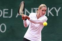 Hráčka Severočeské tenisové Martina Pochabová.