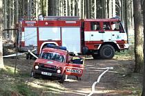 V neděli 12. dubna byl v 15.52 vyhlášen požární poplach jednotce Sboru dobrovolných hasičů Proseč nad Nisou. Tématem prověřovacího cvičení byl požár dřevěného krmelce ve špatně přístupném lesním terénu na Prosečském hřebenu.