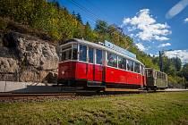 Historická tramvaj v Jablonci. Ilustrační foto.