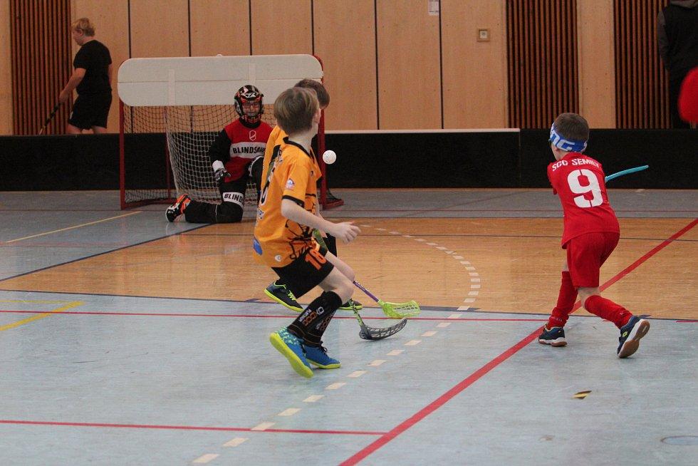 V jablonecké sportovní hale se konal florbalový turnaj elévů, které pořádal domácí klub Florbal Jablonec.