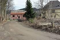 Ladova ulice na jaře