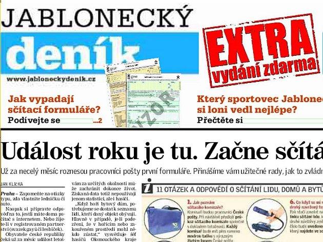 EXTRA Jablonecký deník - únor 2011.