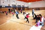 Železnobrodské děti sportovaly v hale při akci Den pro rodinu